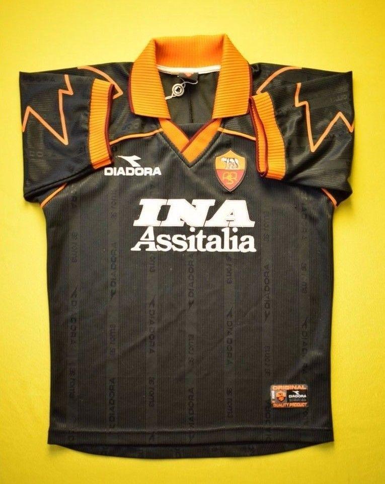 4.7 5 ROMA 19982000 ORIGINAL FOOTBALL THIRD SHIRT JERSEY SOCCER DIADORA SIZE  S (eBay Link) 897544080