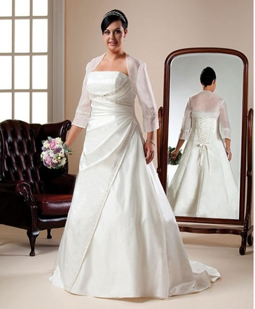 Funny Old Woman Wedding Gowns: Wedding Dress For Older And Over Weight Women