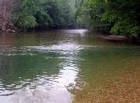 King's River near Berryville, Arkansas