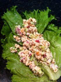 ThreeDietsOneDinner - Paleo Recipes to fit every diet - Paleo Weight Loss - Optimal Nutrition: LUNCH: CRANBERRY WALNUT CHICKEN SALAD