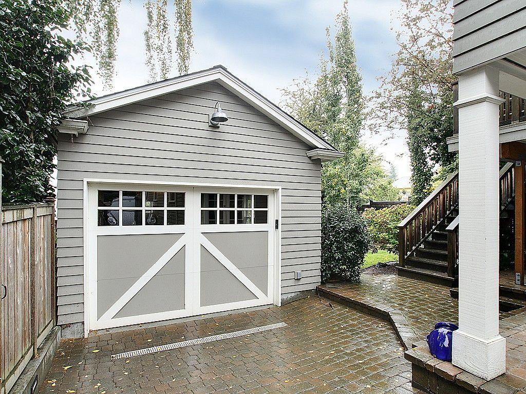 cottage overhead residential doors garage