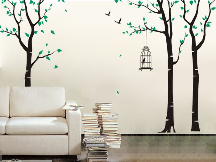 Birdcage Wall Decal Removable wall decals
