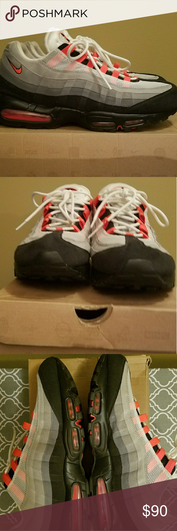 new product 1d303 7228d Air Max 95. Classic hard to find color way. All low ball offers will get  declined. Nike Shoes Sneakers
