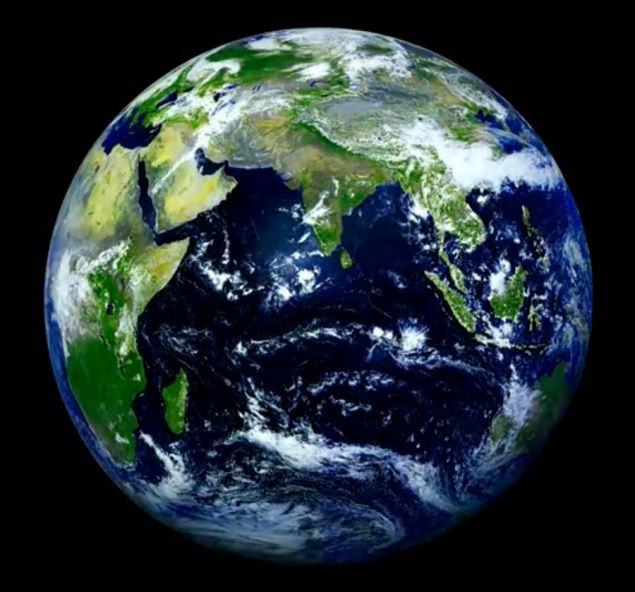 Photo Of Earth Taken By Russian Satellite Provides Stunning View Earth Photos Earth Pictures Earth