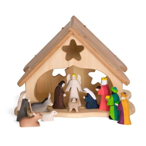 Our Nativity Set Is Hand Carved By Michael Engelberger In Germany