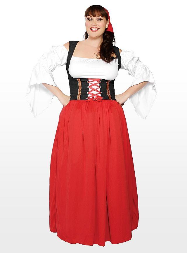 Kleid rot xxl