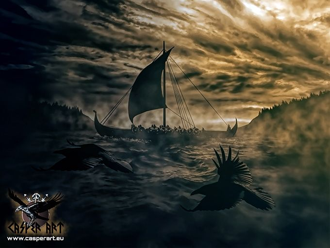 Vikings Voyage The Life Of Vikings Sailing Towards Unknown Lands Awesome Vikings Sailors Quotes