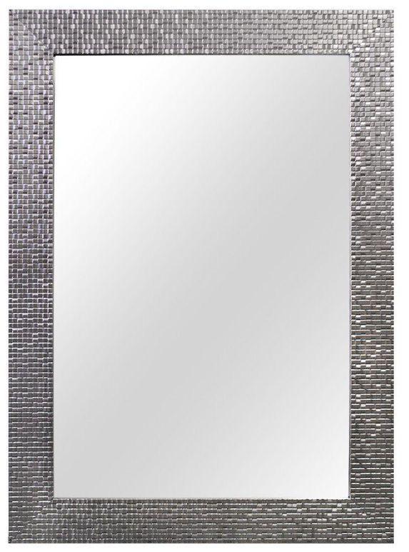 New 24 X 35 Framed Wall Mirror Fog Free Bathroom Decor Vanity