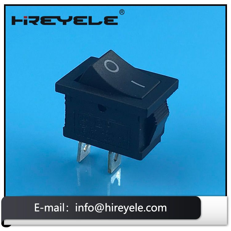 Made In China Black 12v On Off 2 Position Kcd Mini Rocker Switch