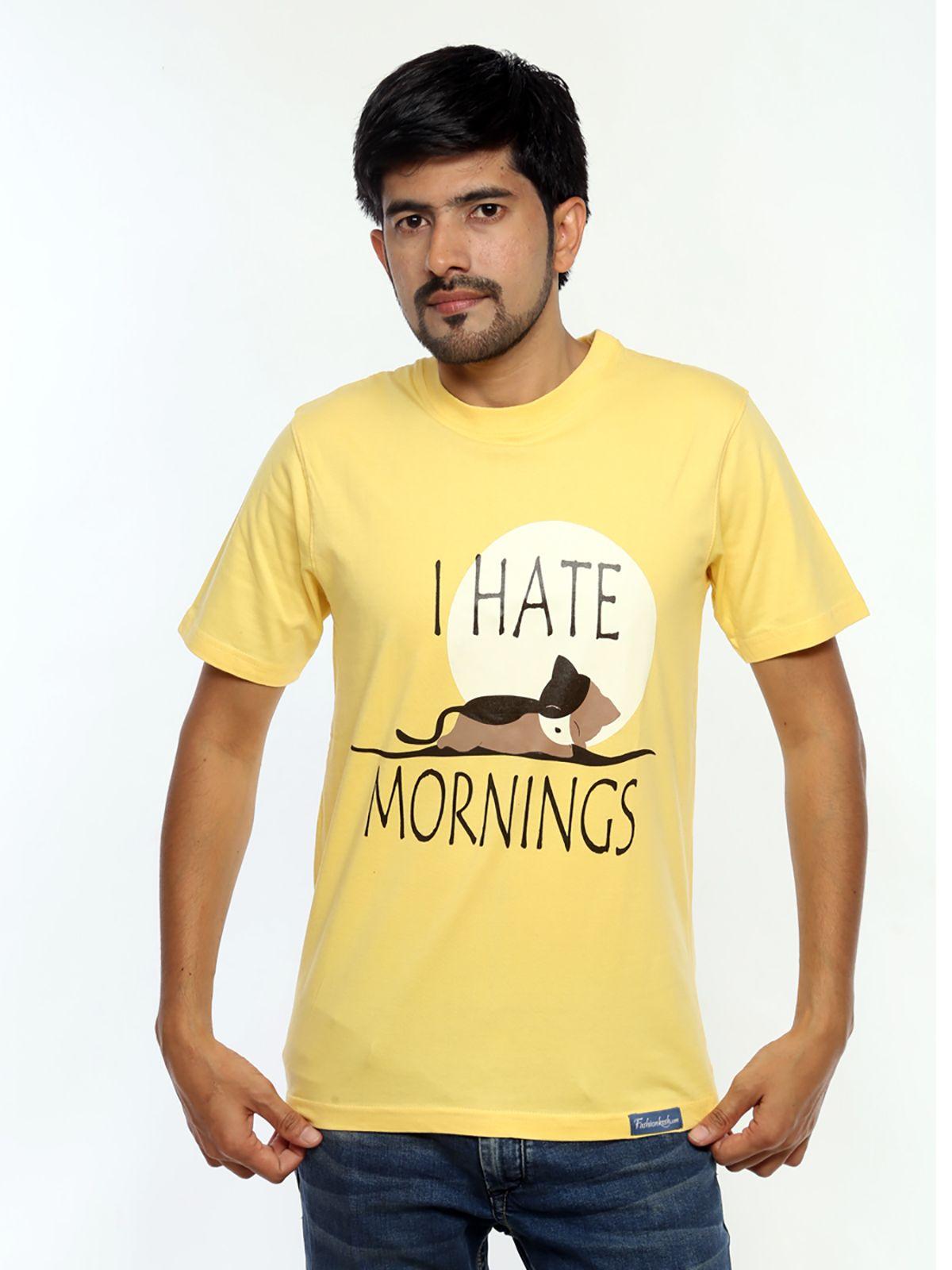 I Hate Mornings T Shirt