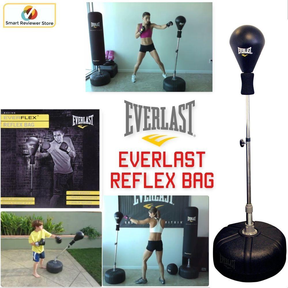 Punching Self Standing bag Boxing FREE Shipping NEW Everlast Reflex Bag
