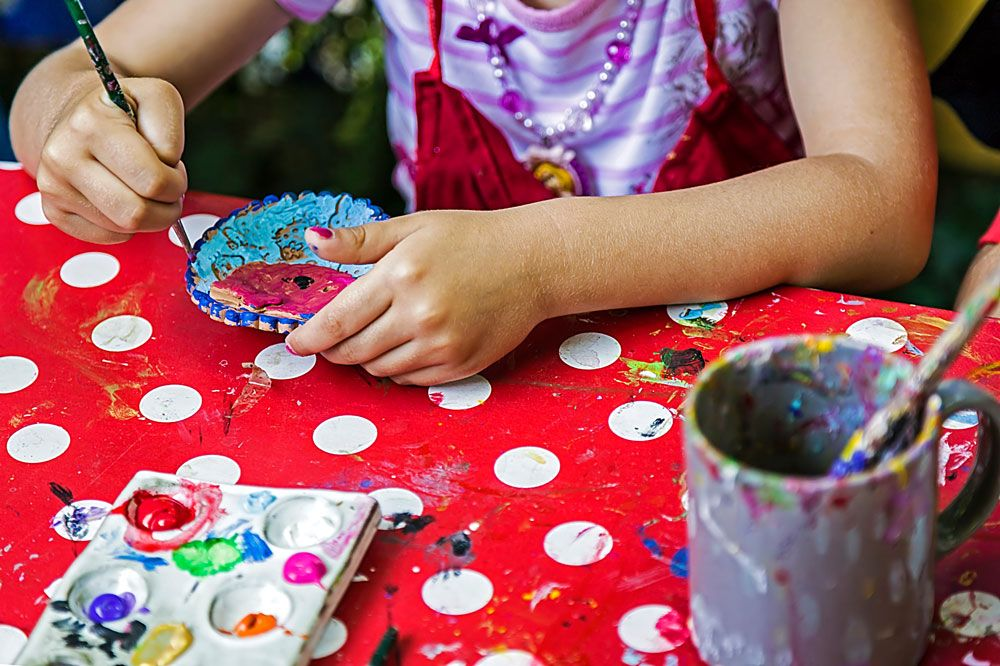 Family Friendly Activities For Cold Weather Months Southeast Lincoln Woods Bros Realty Blog Painting For Kids Family Friendly Activities Winter Blues