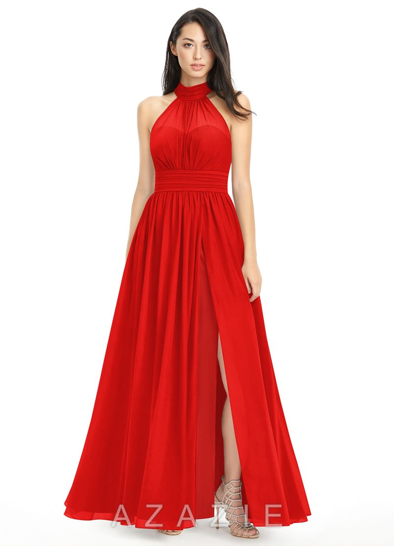 Shop azazie bridesmaid dress iman in chiffon find the perfect