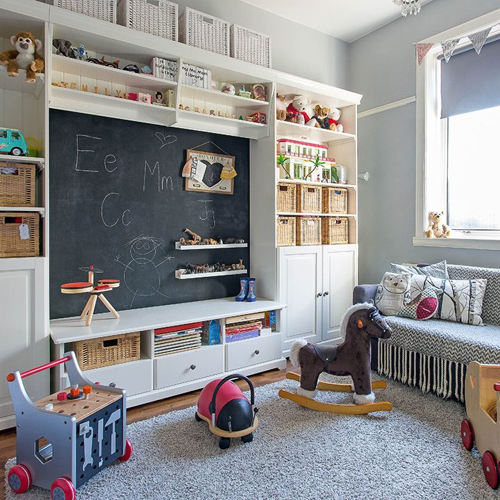 Aménager une chambre d'enfant en 2020 | Chambre enfant, Meuble rangement enfant et Rangement ...