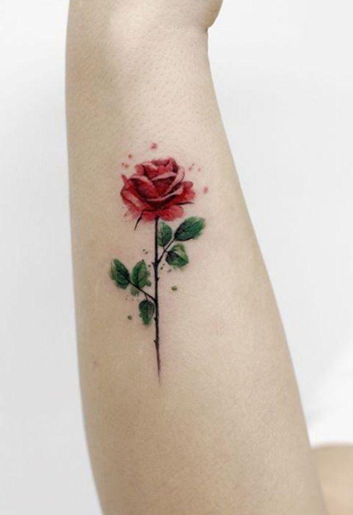 100+ Trending Watercolor Flower Tattoo Ideas For Women