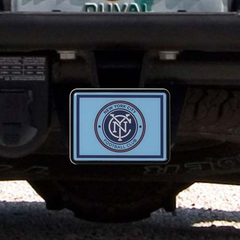 New York City FC Plastic Hitch Cover