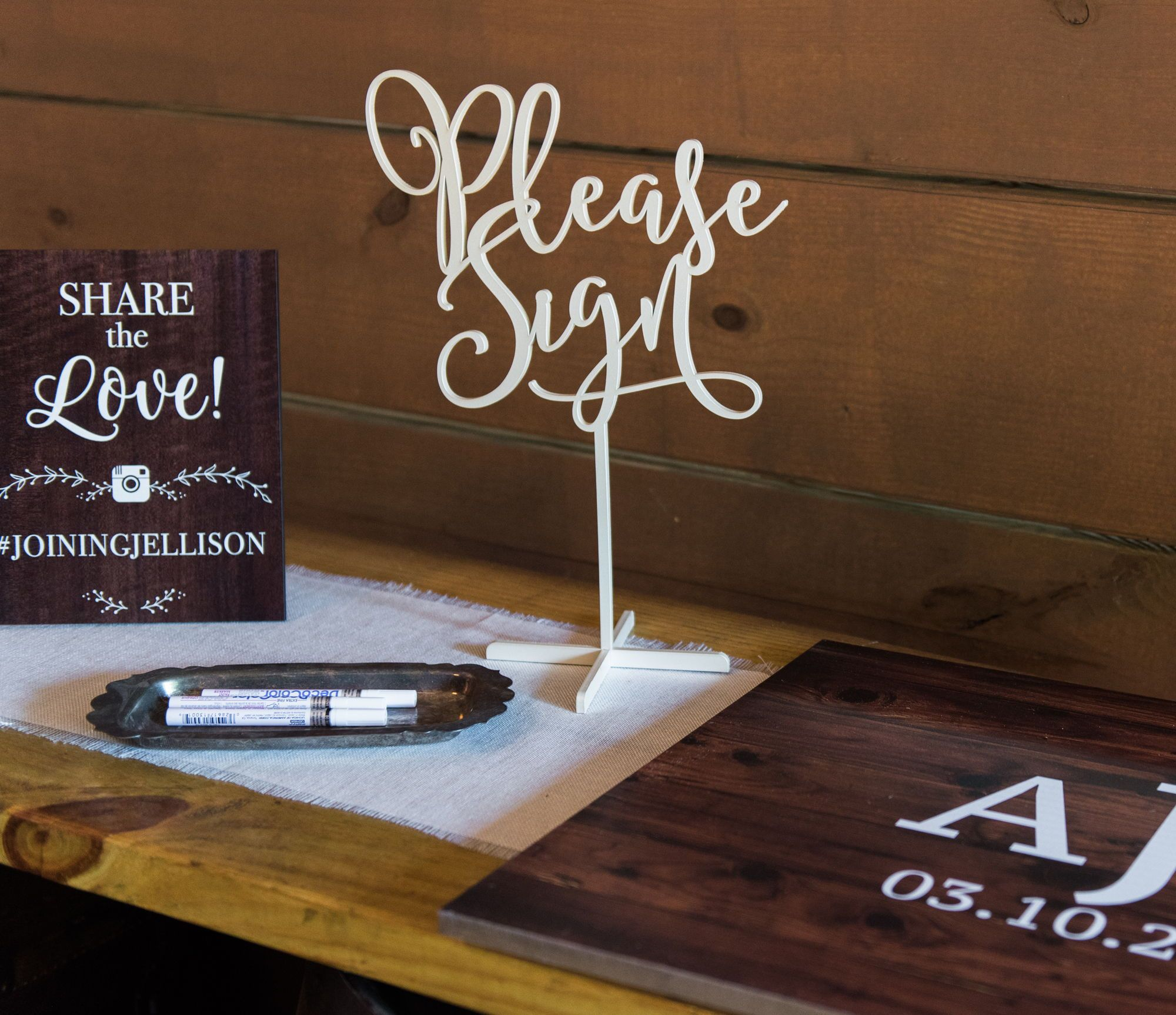 Guestbook Sign for Wedding or Party Guest Book Guest Book Sign for Wedding Please Sign Clear Acrylic Wedding Sign on Stand
