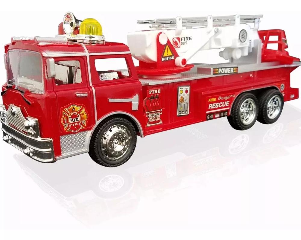 Juguetes De Camión De Bomberos Con Batería Para Niño 133 900 00 Bateria Para Niños Camion De Bomberos Juguetes