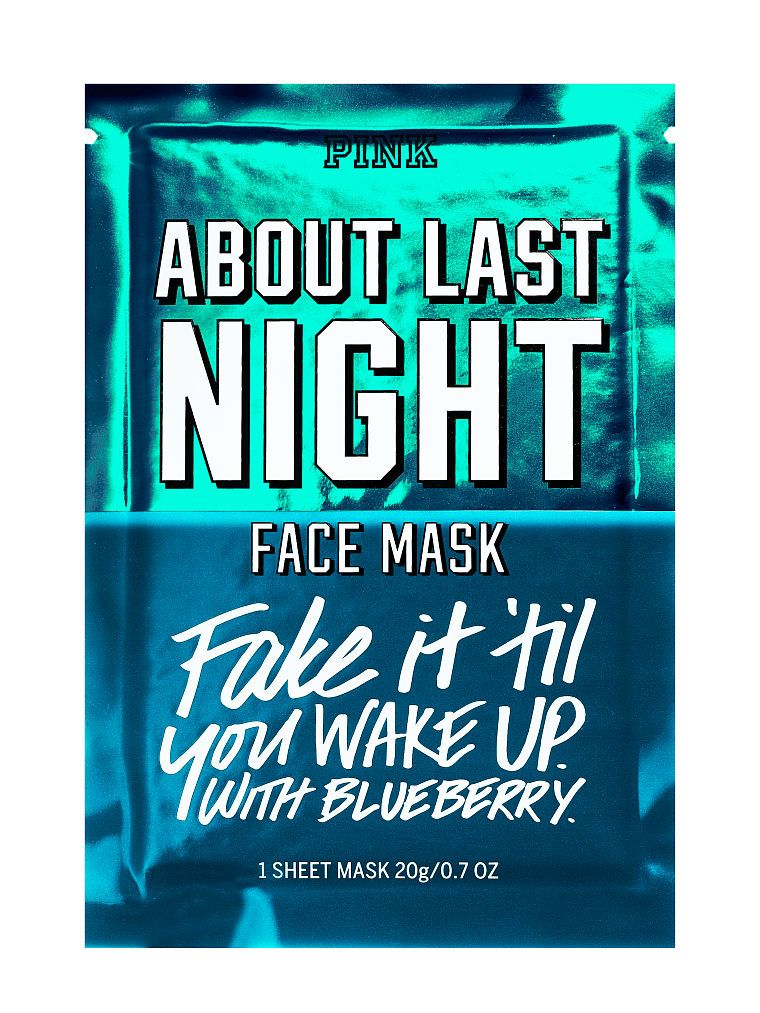 c2e8a99b24438 About Last Night Face Mask - PINK - Victoria's Secret | Smell good ...