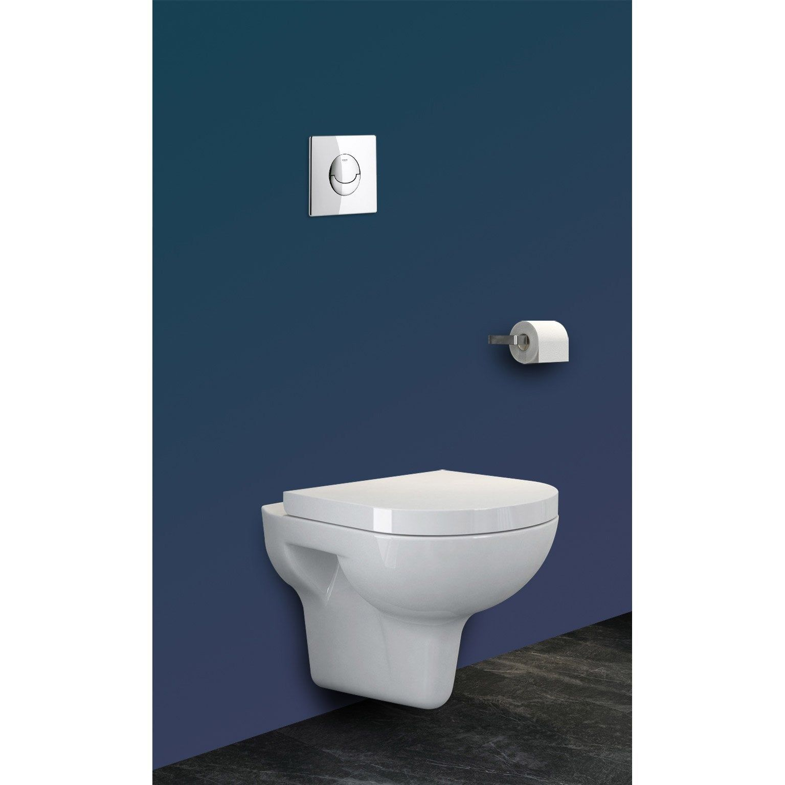 Pack Wc Suspendu Bati Mur Double Rapid Sl Et Velvet Chrome Grohe Concilio Pack Wc Suspendu Wc Suspendu Et Pack Wc