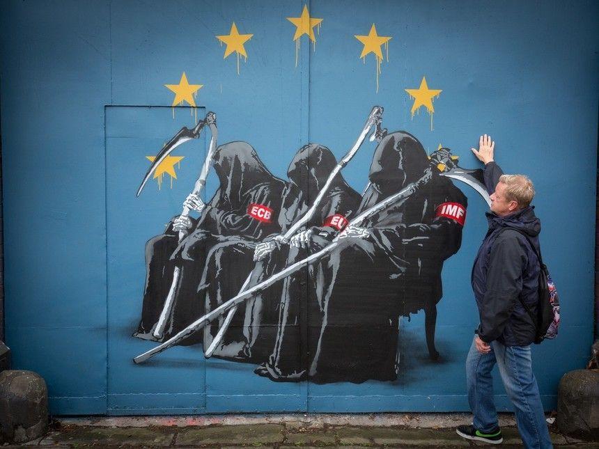 La Union Europea Un Poder Diferente Street Art La Union
