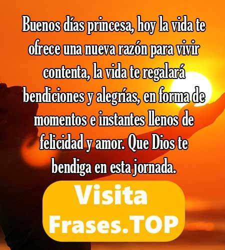 Mensajes De Buenos Dias Mi Amor Frases Positivas Pinterest