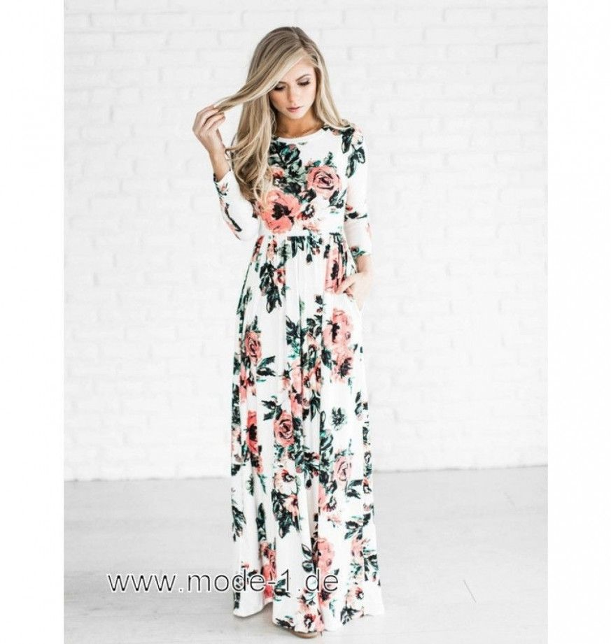 3 Sommerkleid Langarm in 3  Kleider, Alltagskleid, Lange kleider