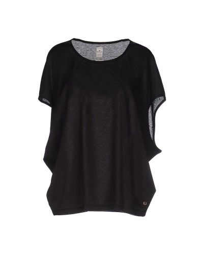 T-shirts by Replay, Women's, Size: Medium, Black