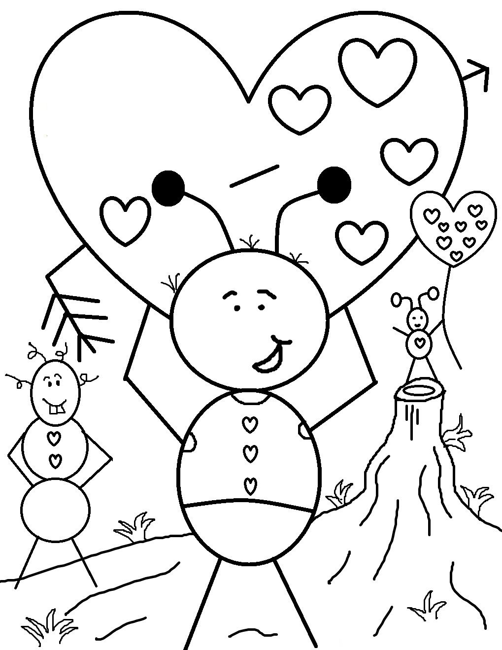 Free Printable Valentine Coloring Pages For Kids Printable Valentines Coloring Pages Valentines Day Coloring Page Valentine Coloring Sheets