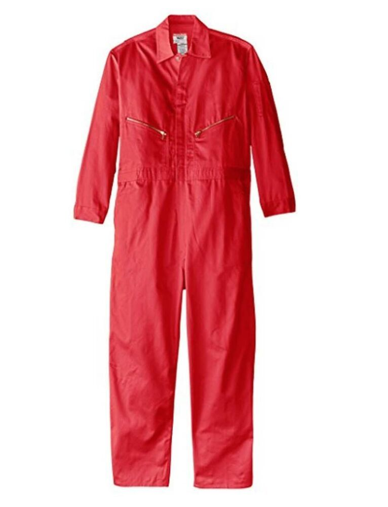 ebay sponsored walls mens safety red 60 tall long sleeve on walls workwear insulated coveralls id=49839