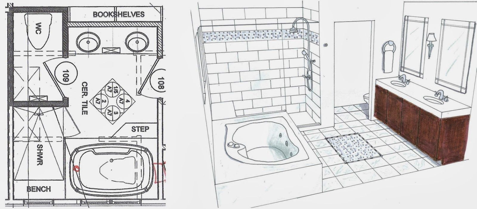 Exactly These Bathroom Floor Plans Are Going To Make The Decoration Inside Looks So Natural Description From Myimmigration Lawyer