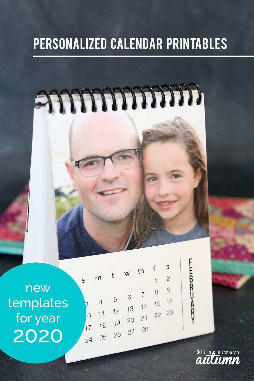 Diy Mini 2020 Photo Calendar Free Printable Templates