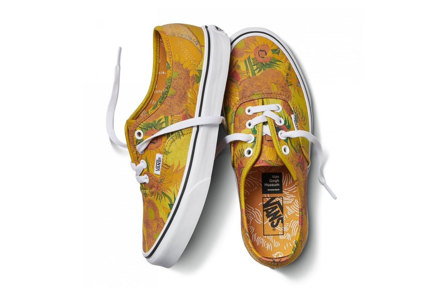 The Vincent Van Gogh Museum Taps Vans For Elegant Capsule