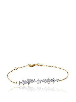 BALI Jewelry Braccialetto metallo placcato oro 18 kt