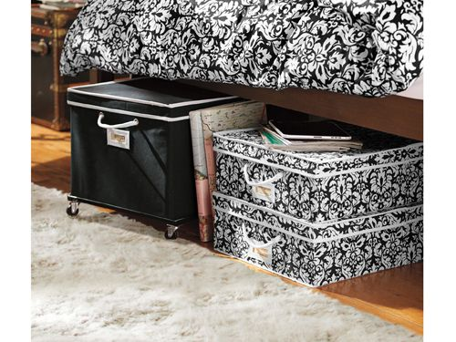 15 sneaky dorm room space saver ideas decor pinterest - Dorm underbed storage ideas ...