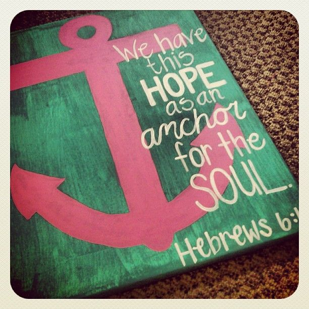 Hebrews 6:19-20, NLT // This hope is a strong and trustworthy Anchor for our souls. It leads us through the curtain into God's inner sanctuary. Jesus has already gone in there for us. He has become our Eternal High Priest in the order of Melchizedek.