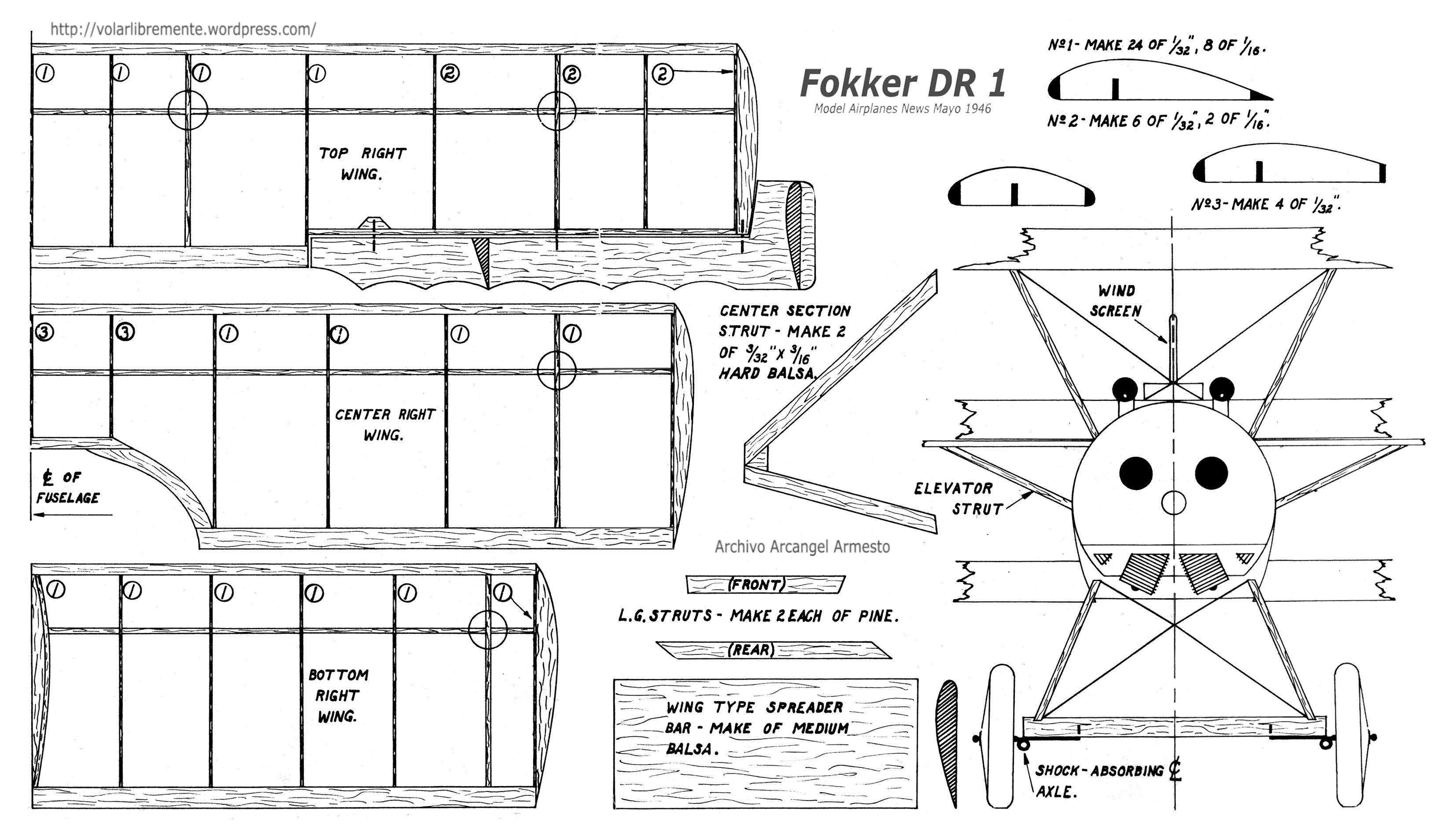 Fokker Dr1 Wngs