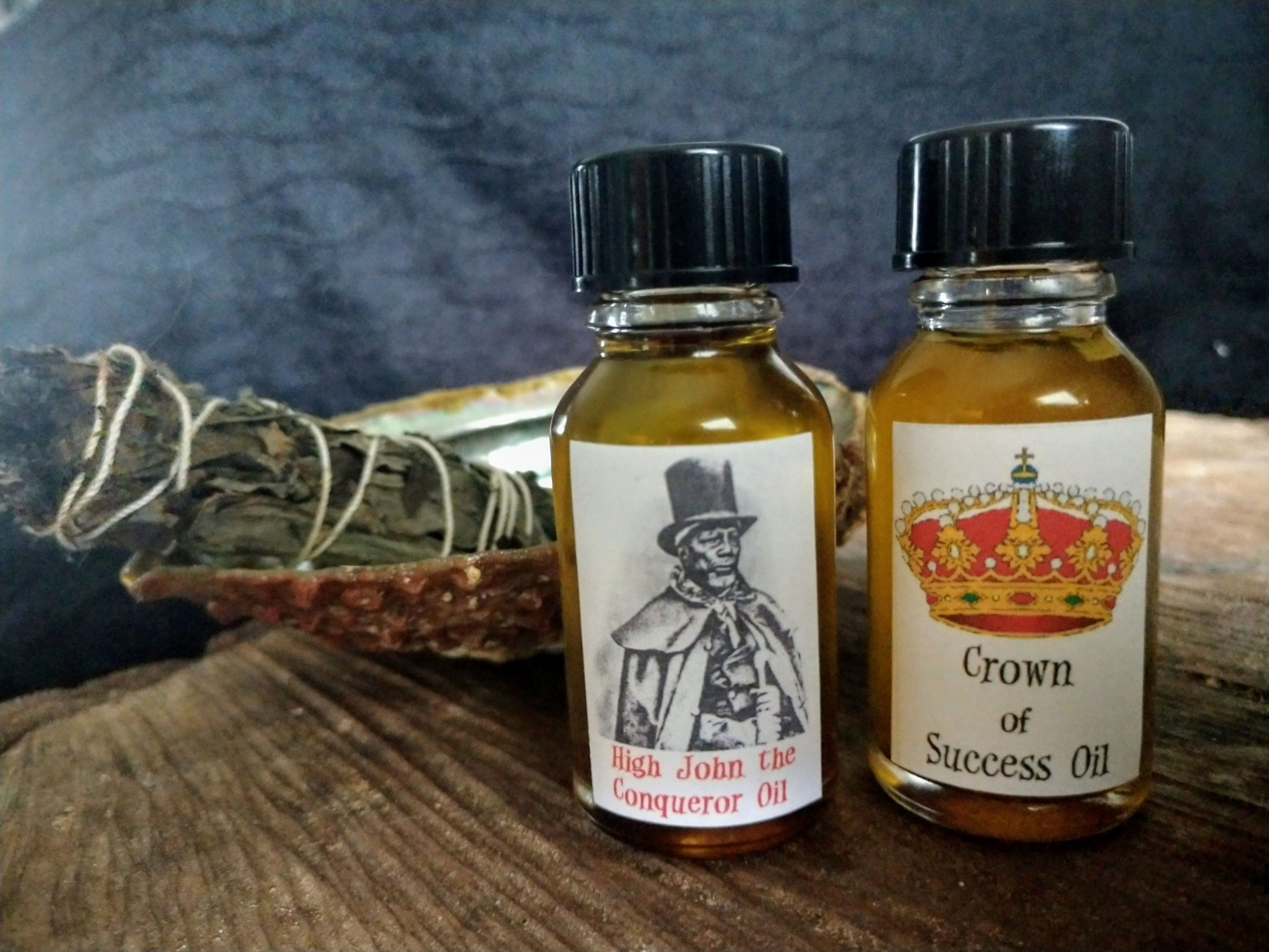 Conjure Oils - High John the Conqueror OR Crown of Success