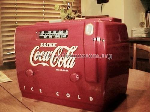 Coca Cola Kühlschrank Retro : Coca cola ~ coke cooler radio 5a410a ch= 4501a from marvin j