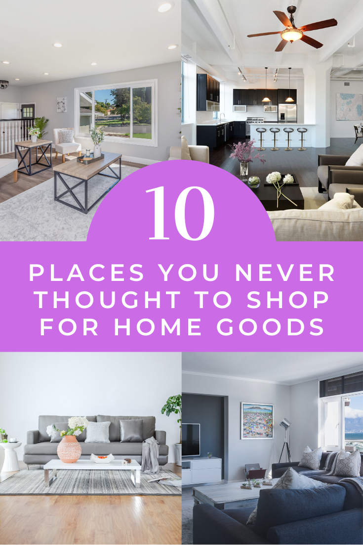 10 Places You Never Thought To Shop For Home Goods Diannedecor Com Home Decor Shops Cheap Home Decor Home Decor Online