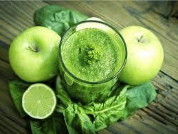 Maçã + Couve + Limão + Pepino = Energia