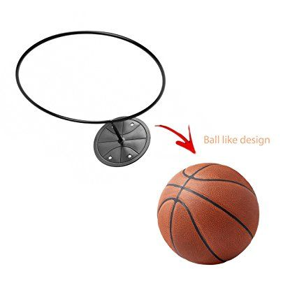 Wall Mount Ball Holder Multi Function Sports Ball Holder And Display Rack Metal Organizer For Basketball Soccer Ball Sports Balls Ball Storage Display Storage