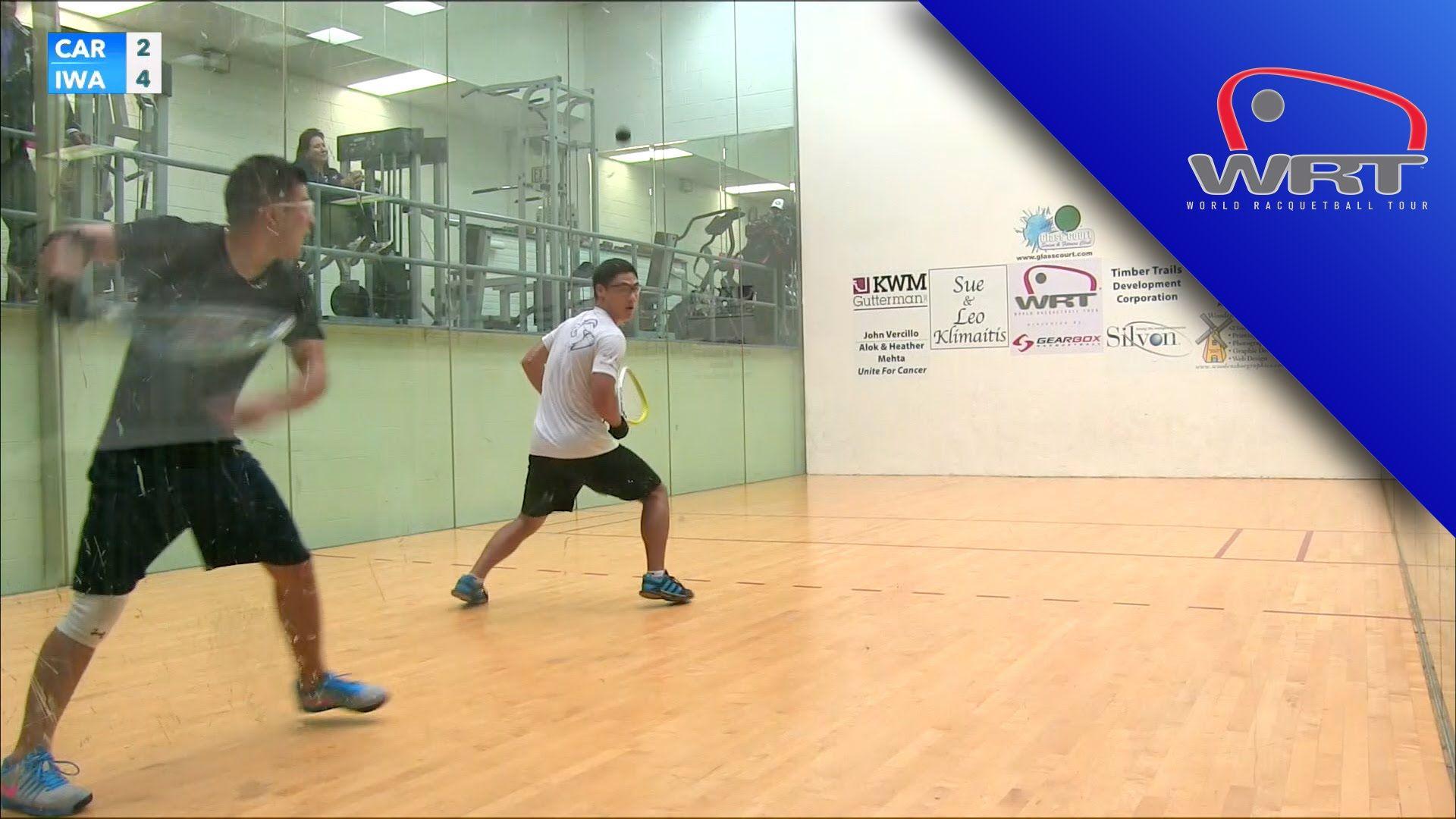 Final Iwaasa vs Cardona Finals, Instructional video