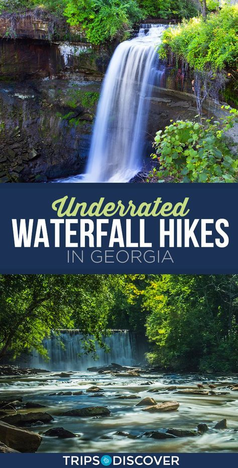 11 Underrated Waterfall Hikes in Georgia