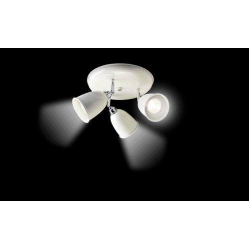 Stockholm triple spotlight spotlights lighting decorating interiors wickes