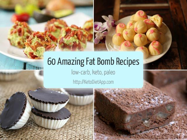 60 Amazing Fat Bomb Recipes