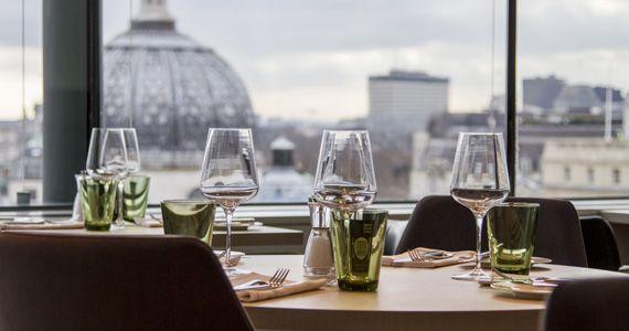 Portrait Restaurant, The National Portrait Gallery, London - new book blueprint cafe