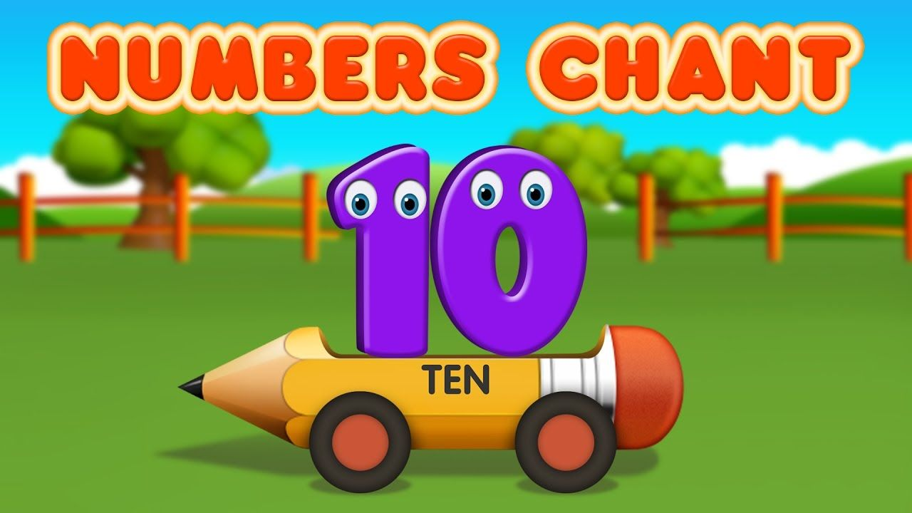 Numbers 1 to 10 Chant - Colors & Numbers Collection for Children ...