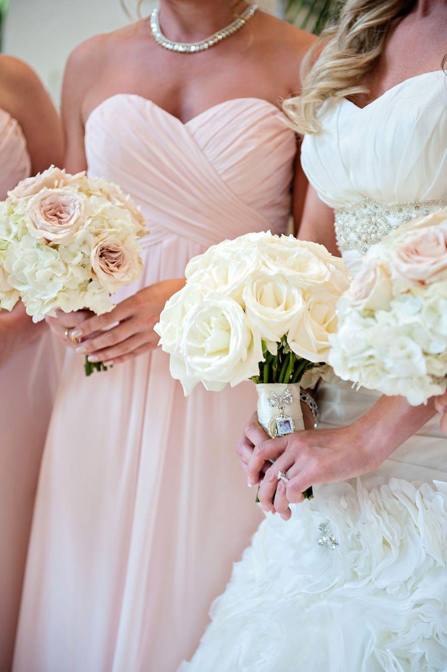 Romantic Blush Pink Sarasota Wedding Blush Pink Wedding Dress