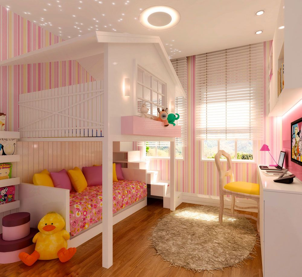Room, Kids Room, Child Room, Girls Room, Interior Design Quarto, Criança Part 63